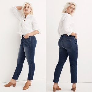 Madewell Slim Straight William Blue Jeans Size 31